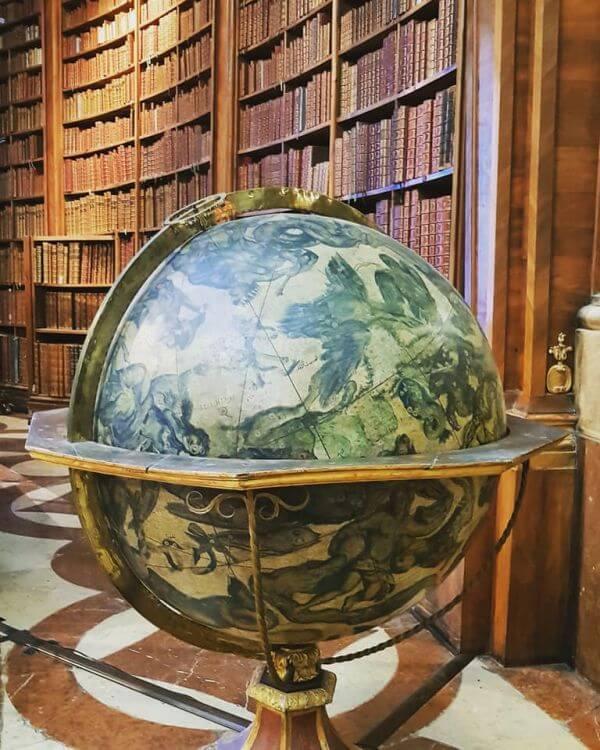 Wiedeń Austriacka Bibilioteka Narodowa - globus wenecki