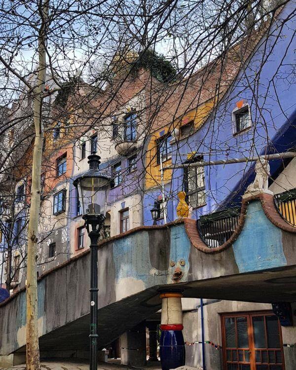 Wiedeń Hundertwasser House