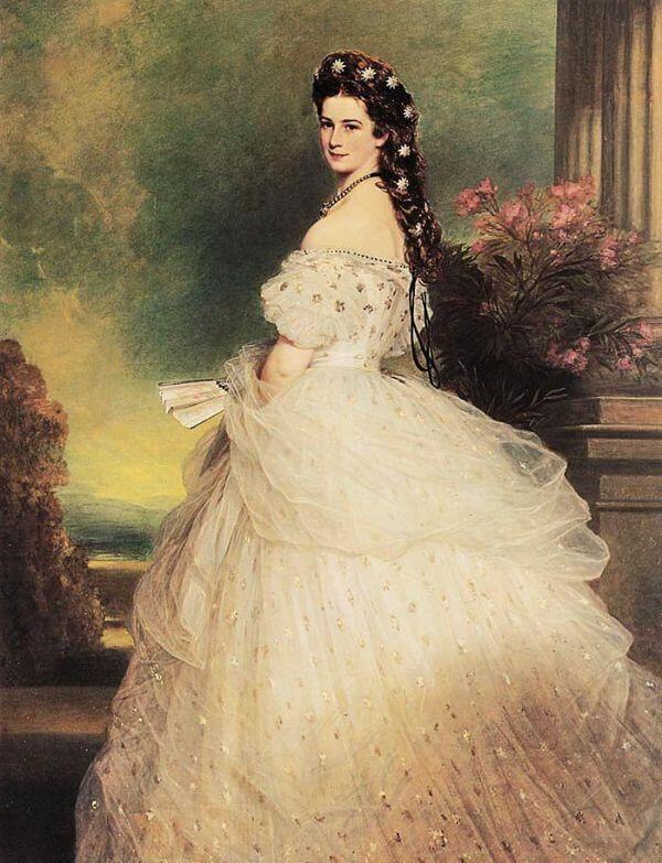 Portret Sissi Sissi Franz Xaver Winterhalter