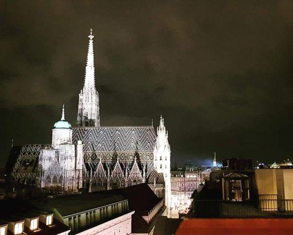 Wiedeń Lamme Bar widok