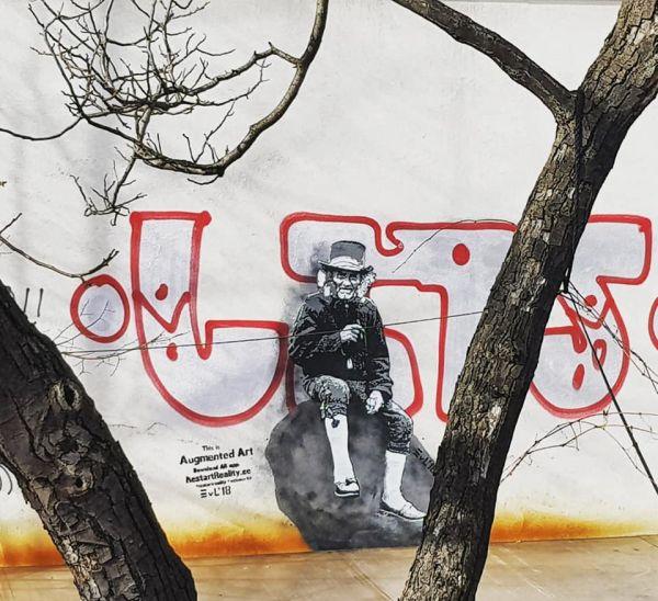 Grafitti na murze