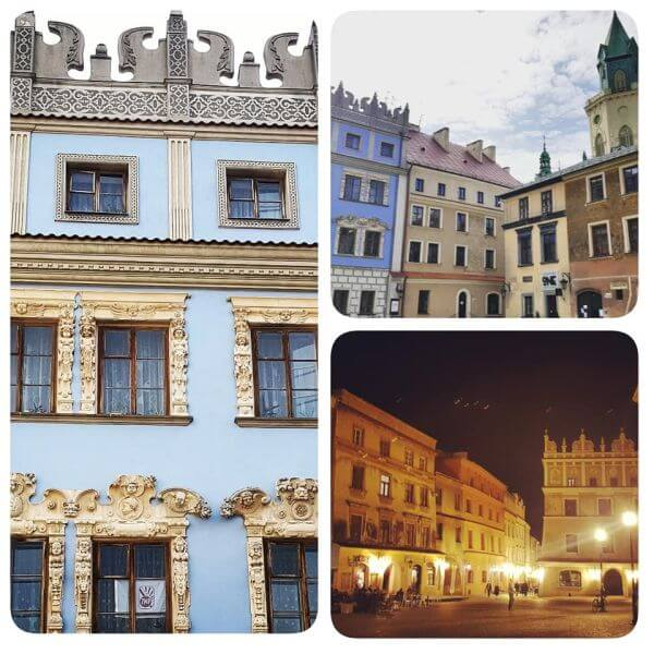 Kamienice Ryenk Lublin