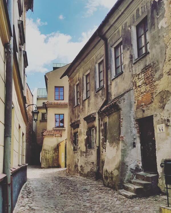 Zrujnowana kamienica Lublin
