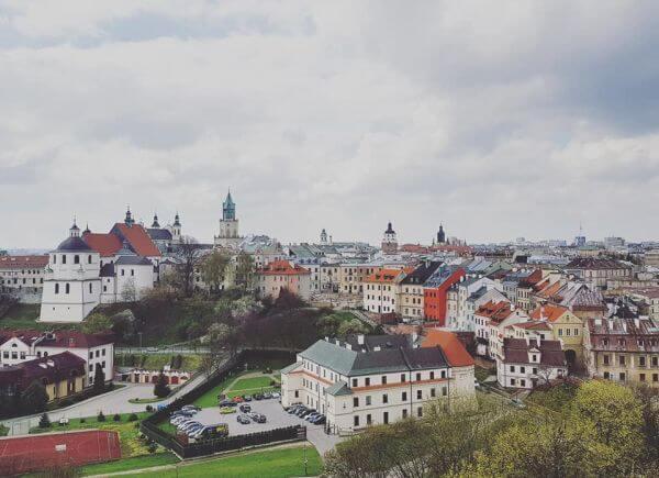 Lublin panorama