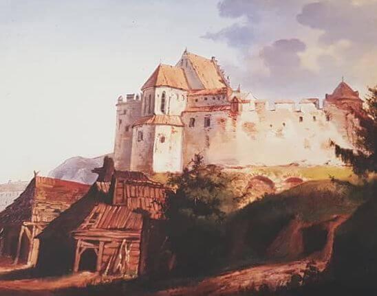 Zamek Lubelski circa 1800