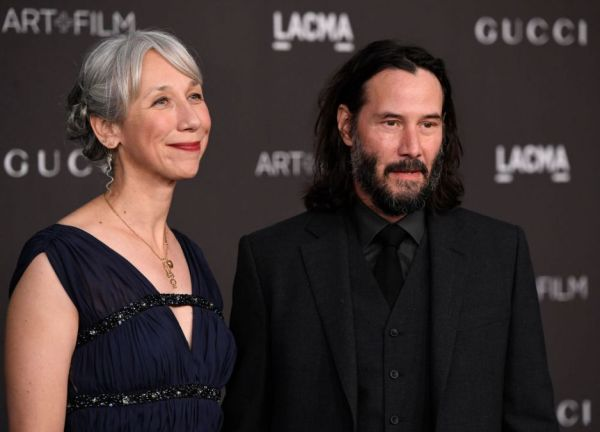 Keanu Reeves i partnerka