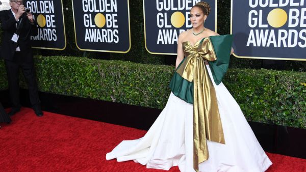 Jennifer Lopez Golden Globes 2020