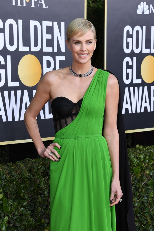 Charlize Theron Golden Globes 2020