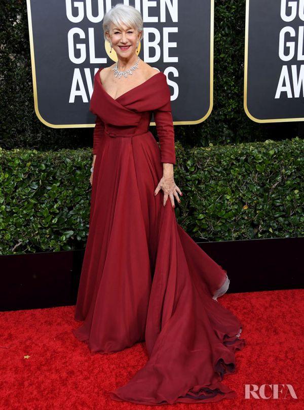 Helen Mirren Globes 2020